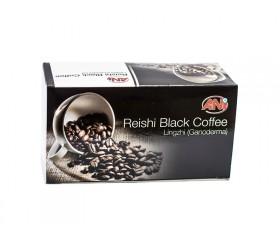 Čierna káva s hubou Reishi